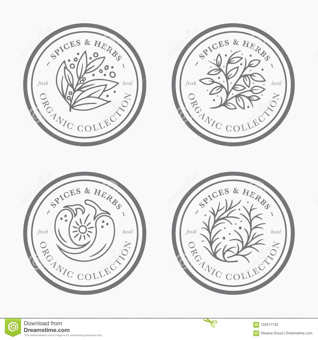 customizable black and white pantry label collection stock vector