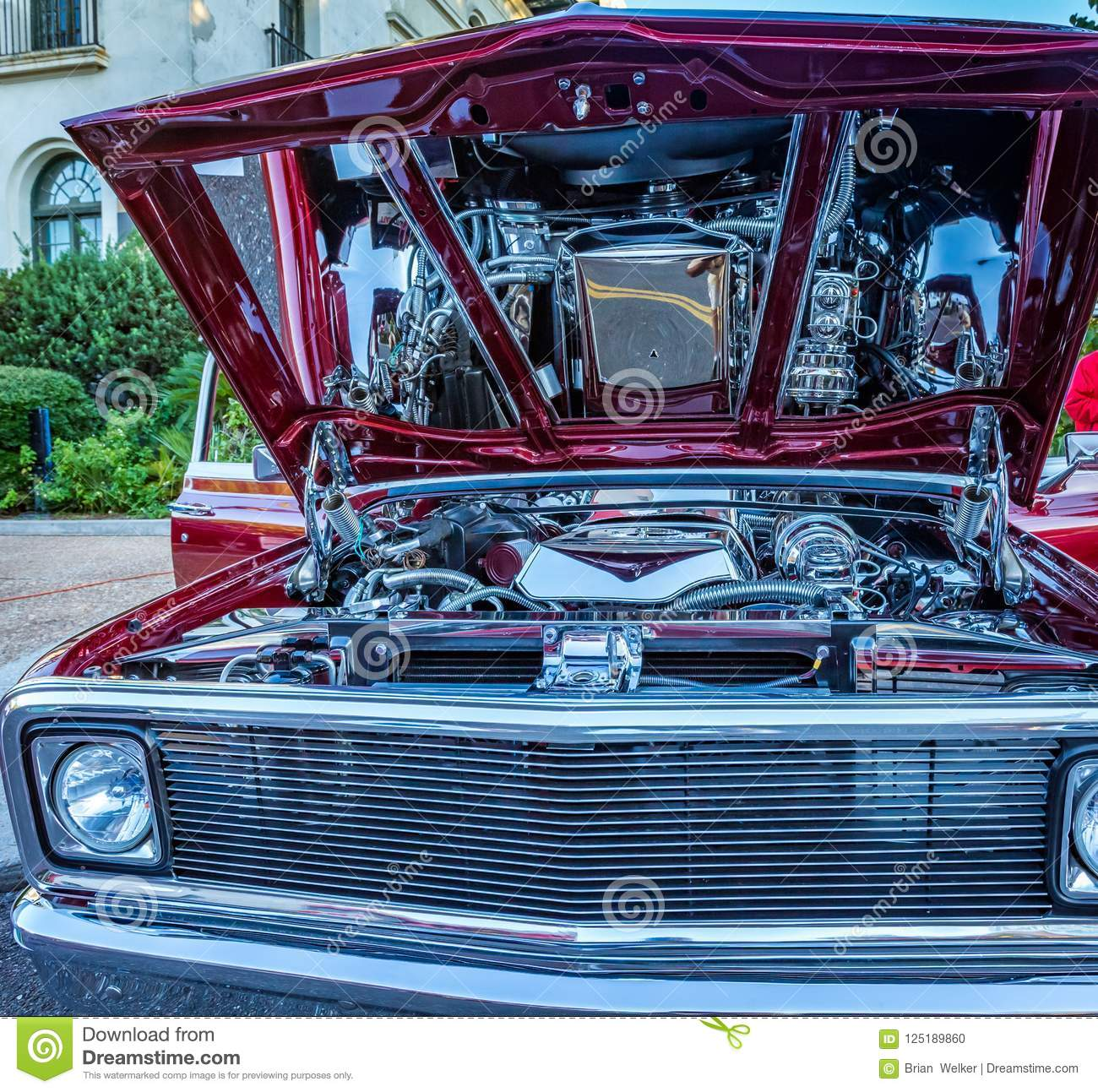 Customized Chevrolet Pickup Truck Editorial Image Image Of - Amelia island classic car show