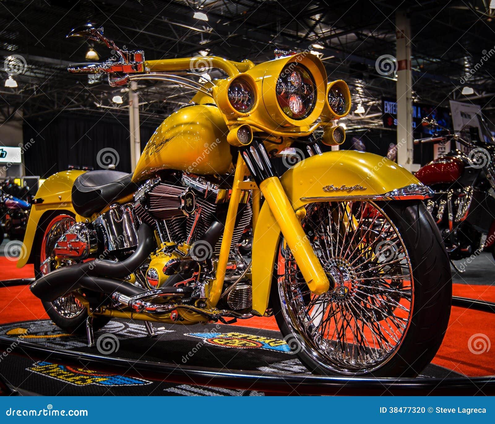 Customized Harley Davidson Michigan Motorcycle Show
