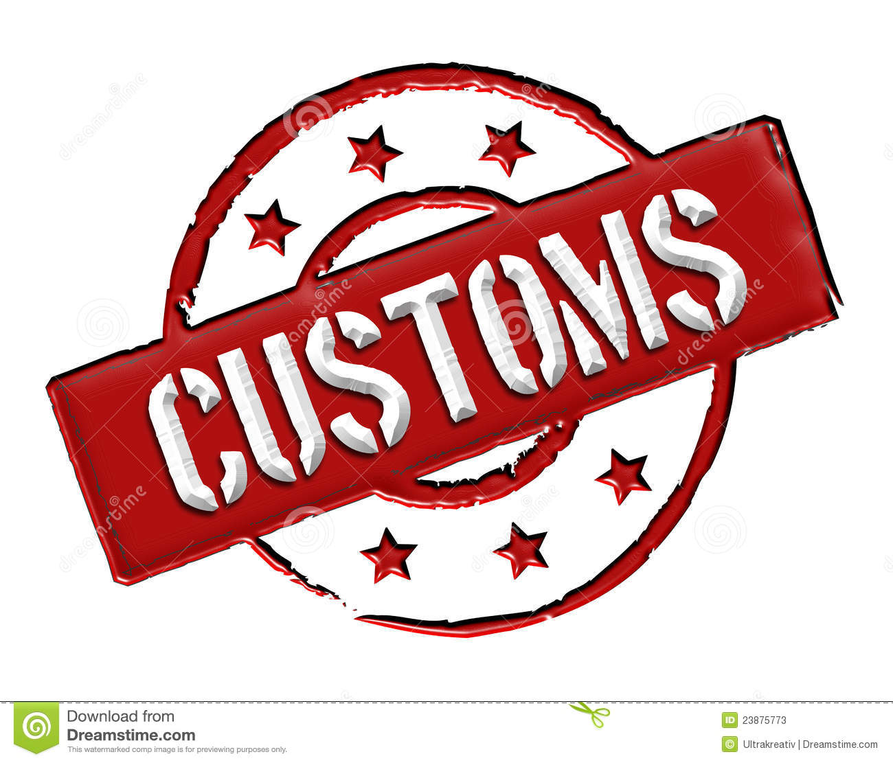 Customs - Red