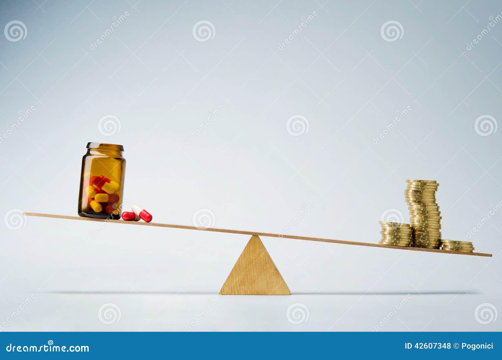 Custos ou conceito médico do fundo do seguro