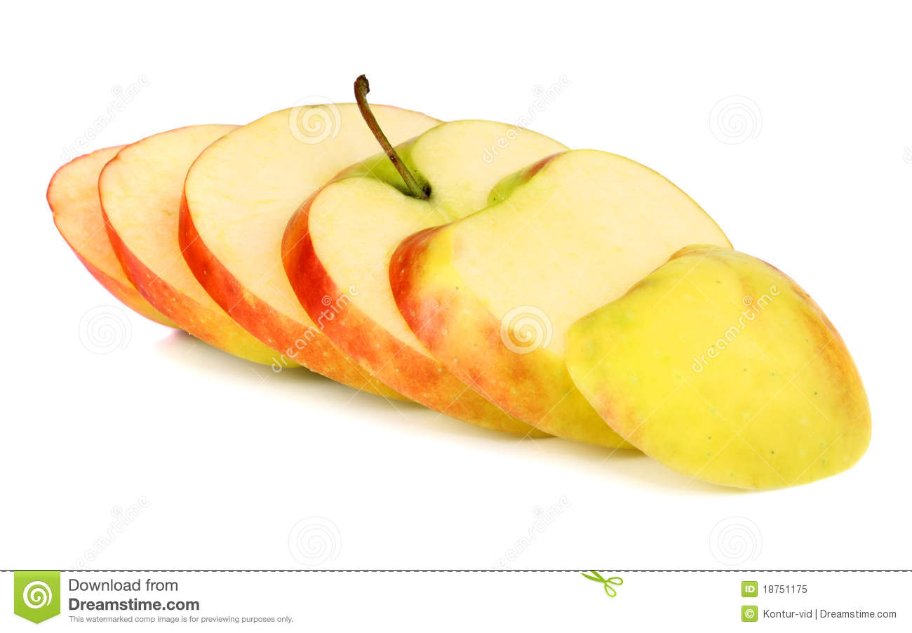 Cut Apple Royalty Free Stock Photo - Image: 18751175: dreamstime.com/royalty-free-stock-photo-cut-apple-image18751175