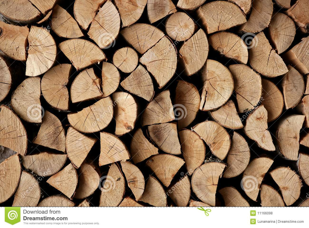 Stack of logs for firewood stock image. Image of burn - 5539933