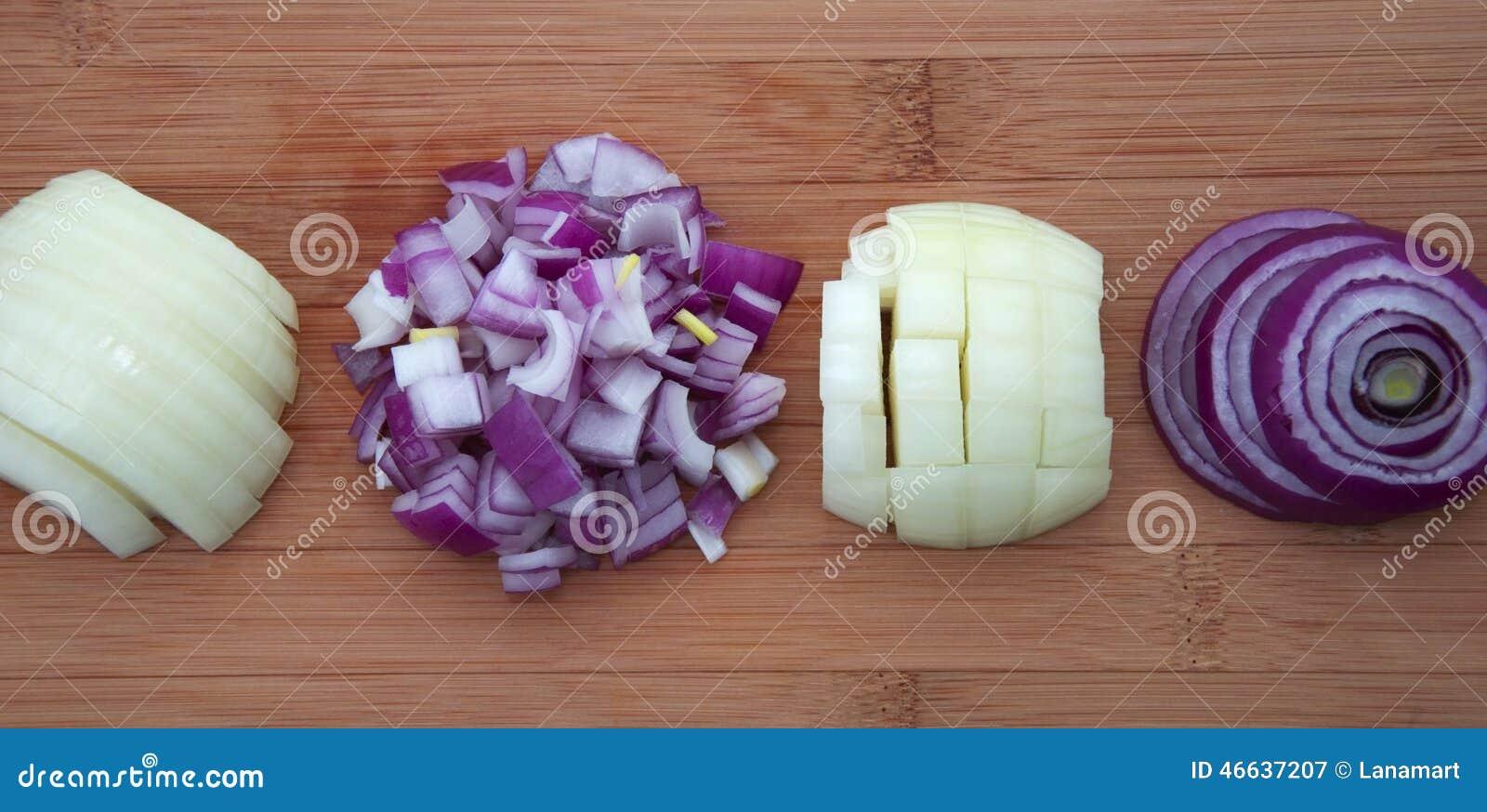 how to cut an onion tasty