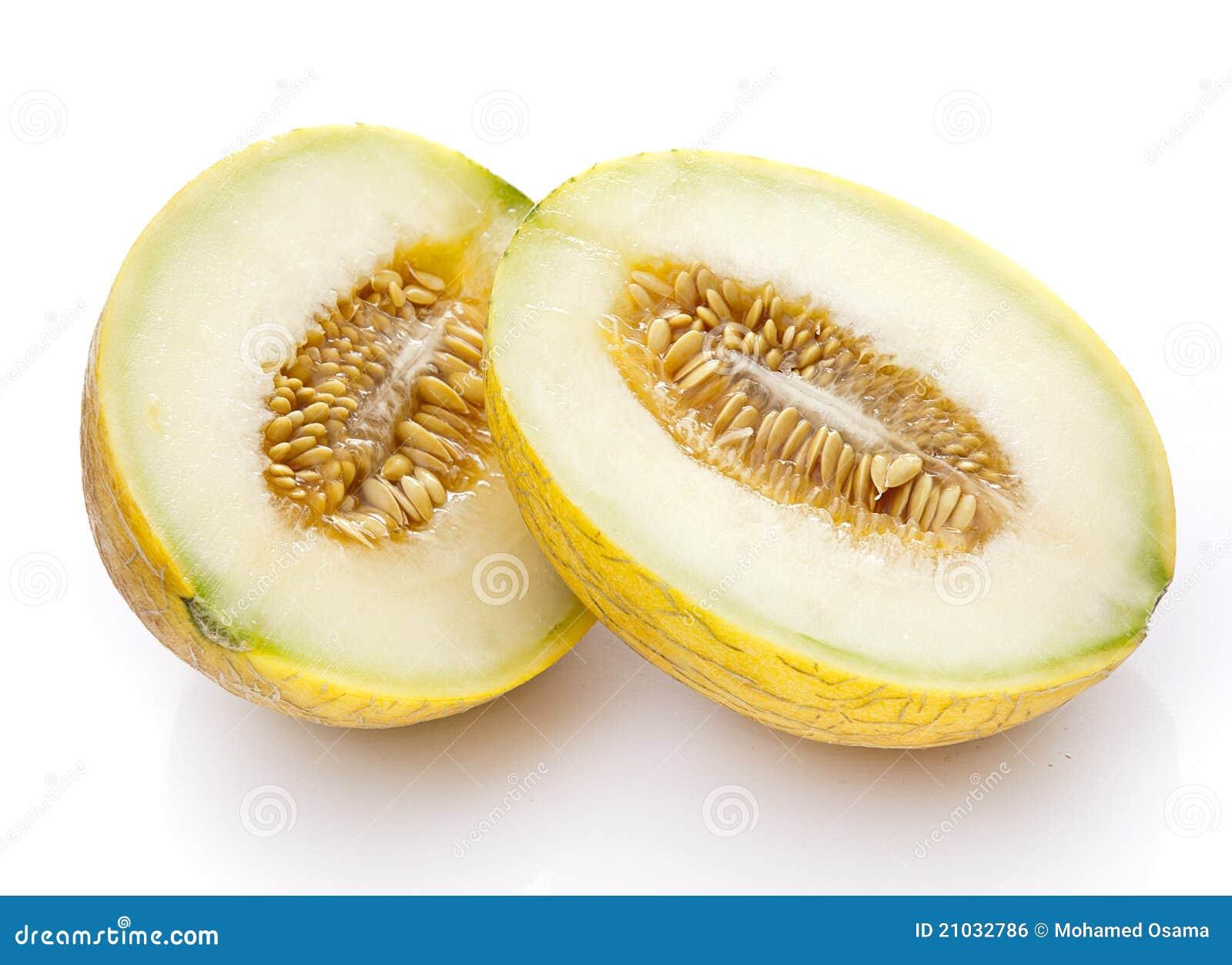 Cut Open Melon