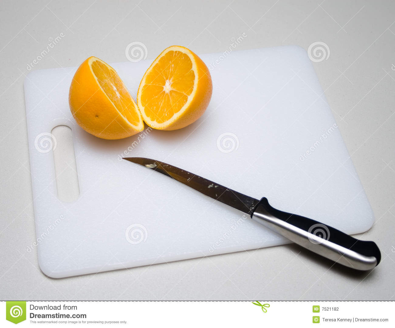 how to cut orange for beer