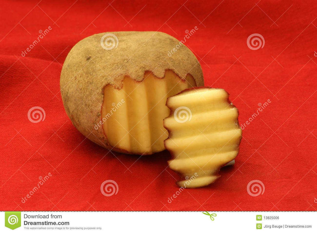 how to store fresh cut potatoes