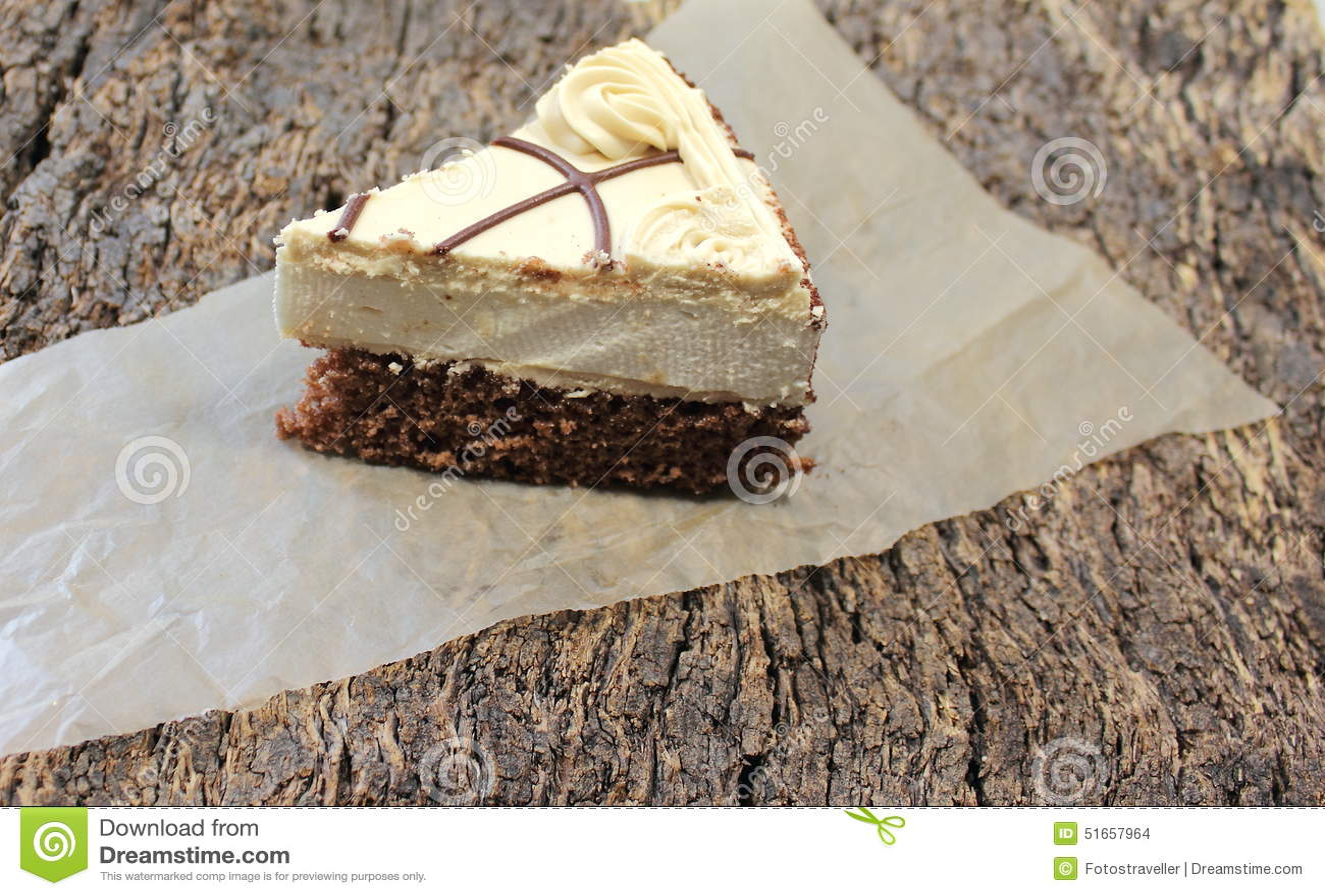 Cut A Piece Of Cake Stock Photo 51657964 - Megapixl