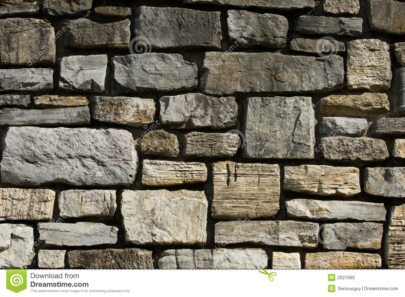 cut stone wall detail stock photo image of stone rock 2621690. Black Bedroom Furniture Sets. Home Design Ideas
