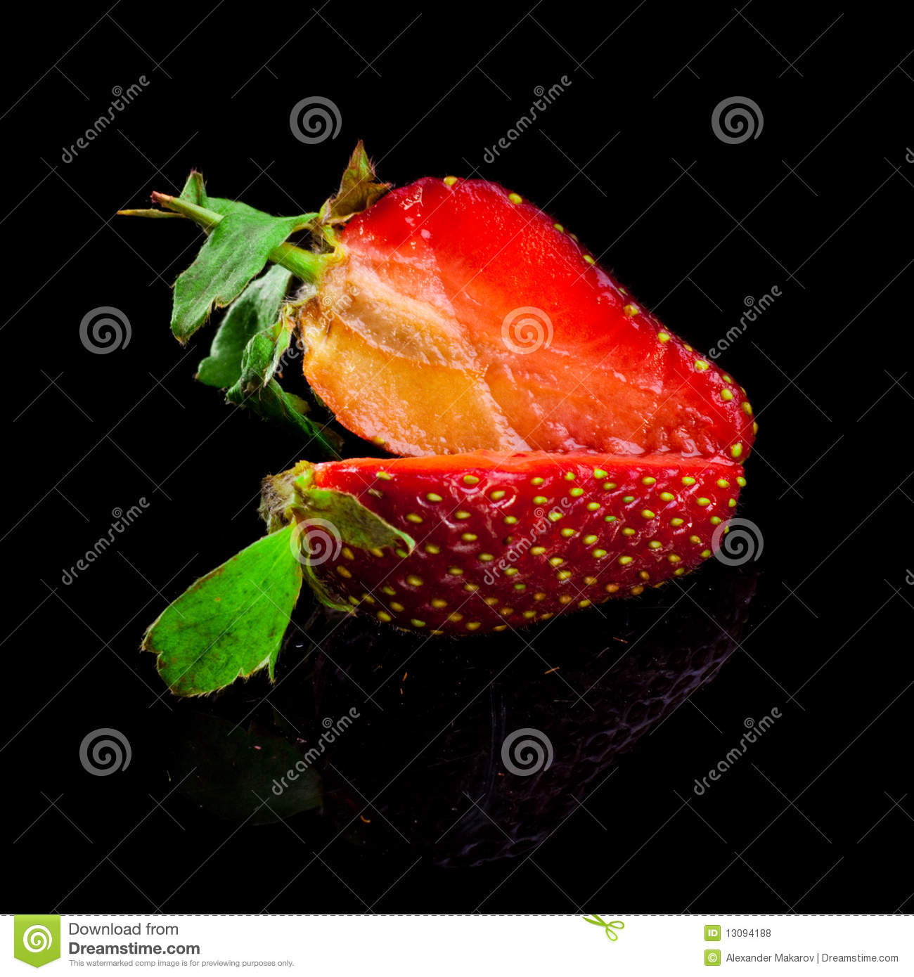 how to preserve cut strawberries