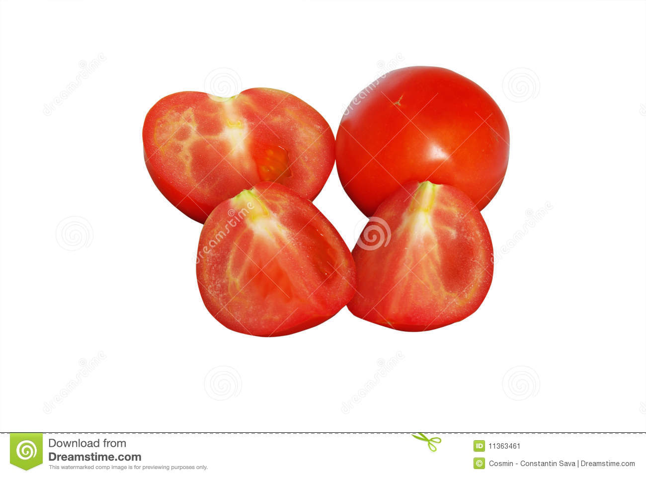 how to properly cut a tomato