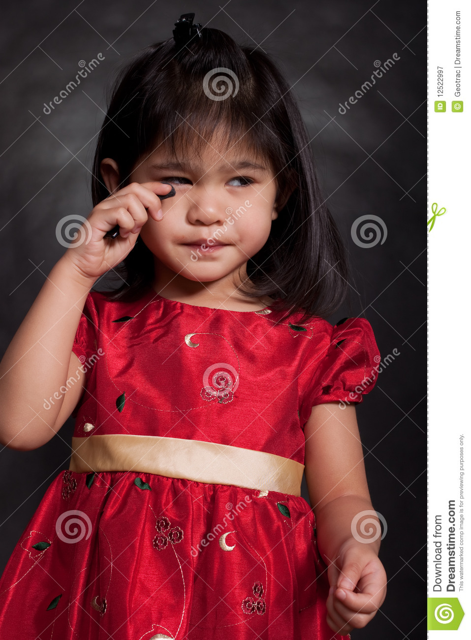 Cute Adorable 2-Year Old Toddler Girl Stock Image - Image Of Innocent, Female 12522997-8413