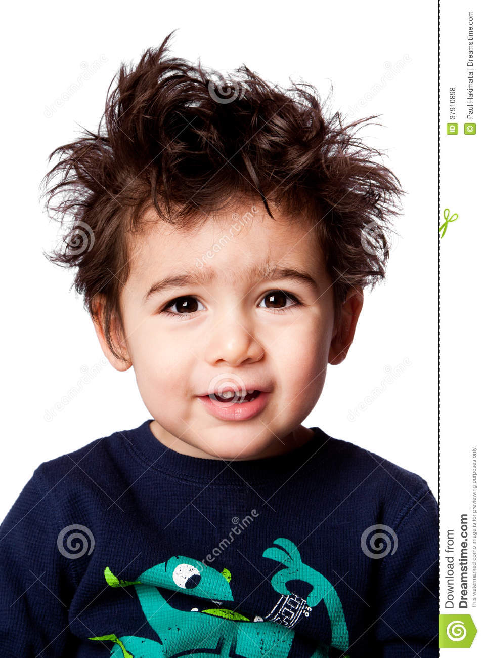 Cute Adorable Toddler Expression Stock Photo Image Of