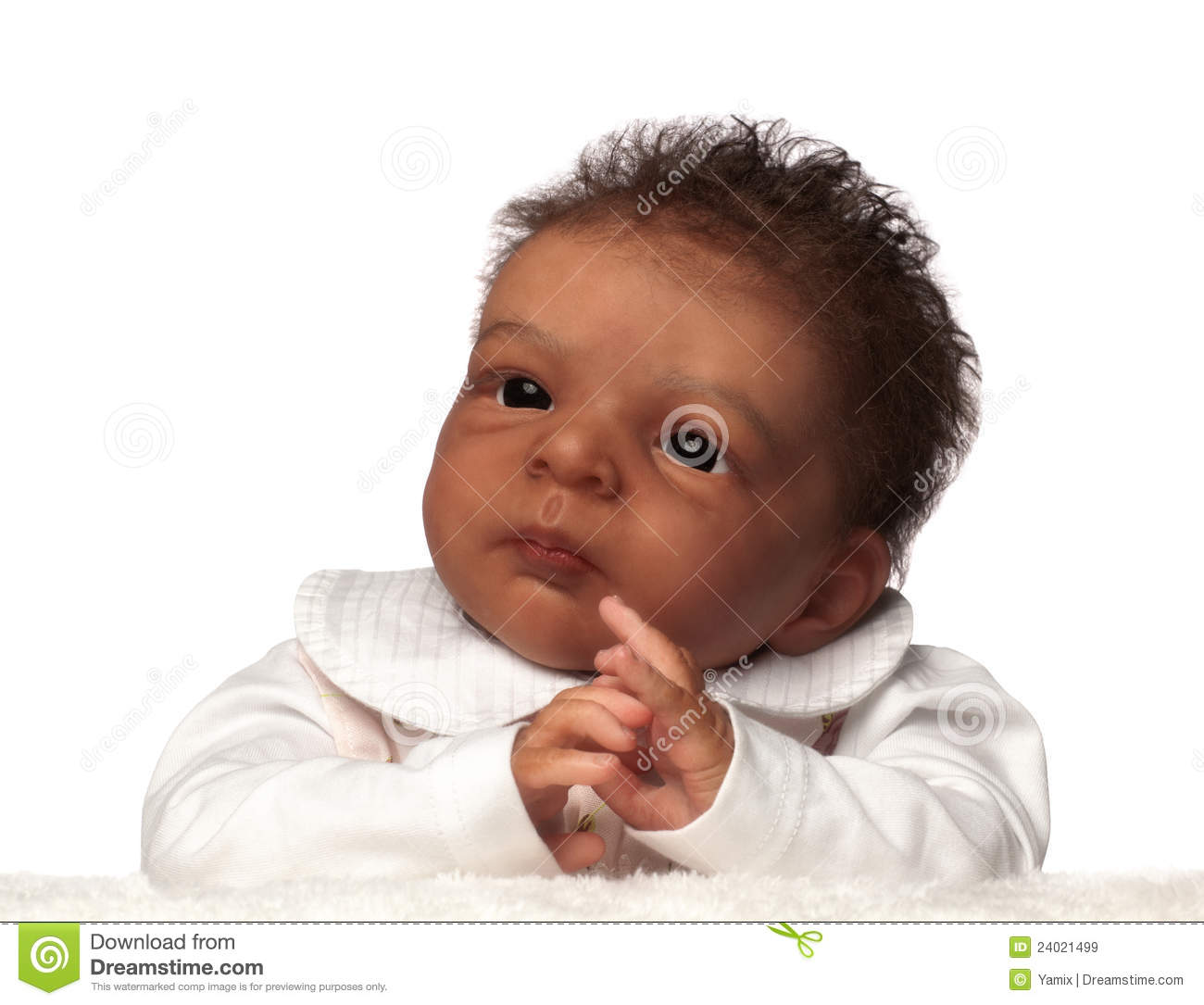 cute african american baby stock image. image of hispanic - 24021499