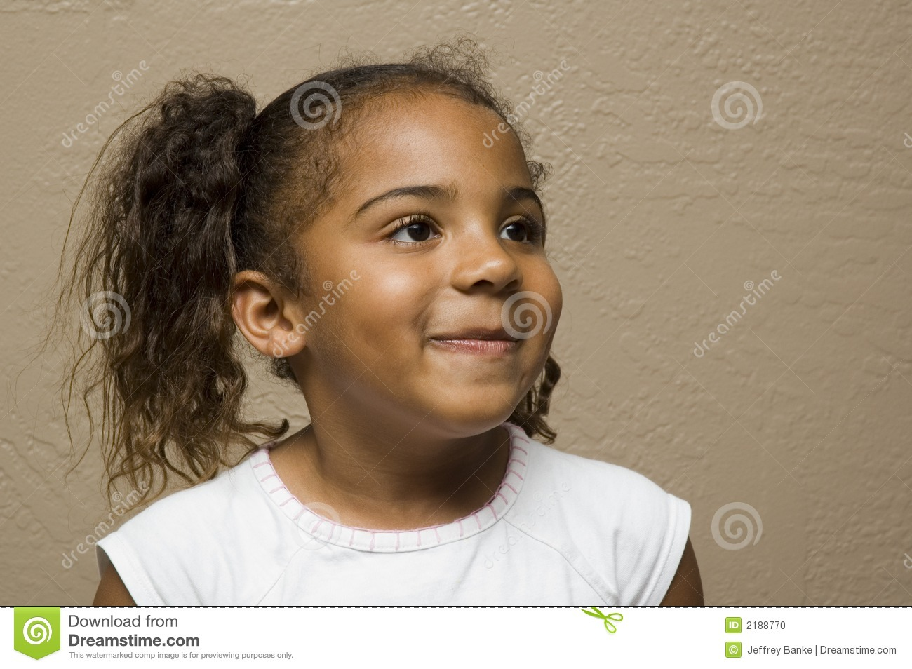 Cute African American Child Stock Photo Image 2188770
