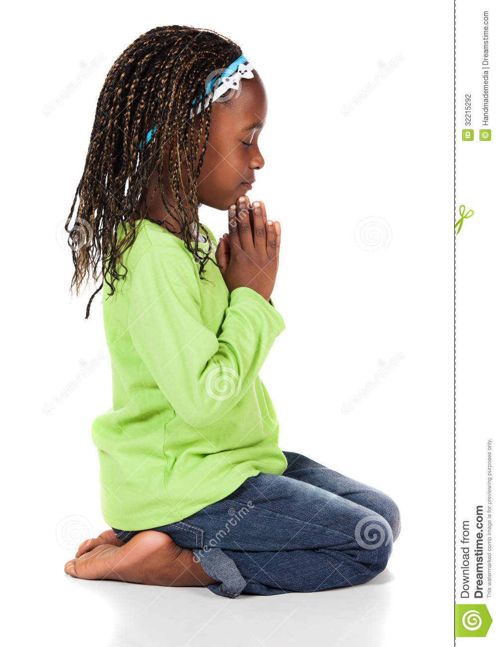 cute african girl stock photography image 32215292 child praying clip art free child praying clip art black and white