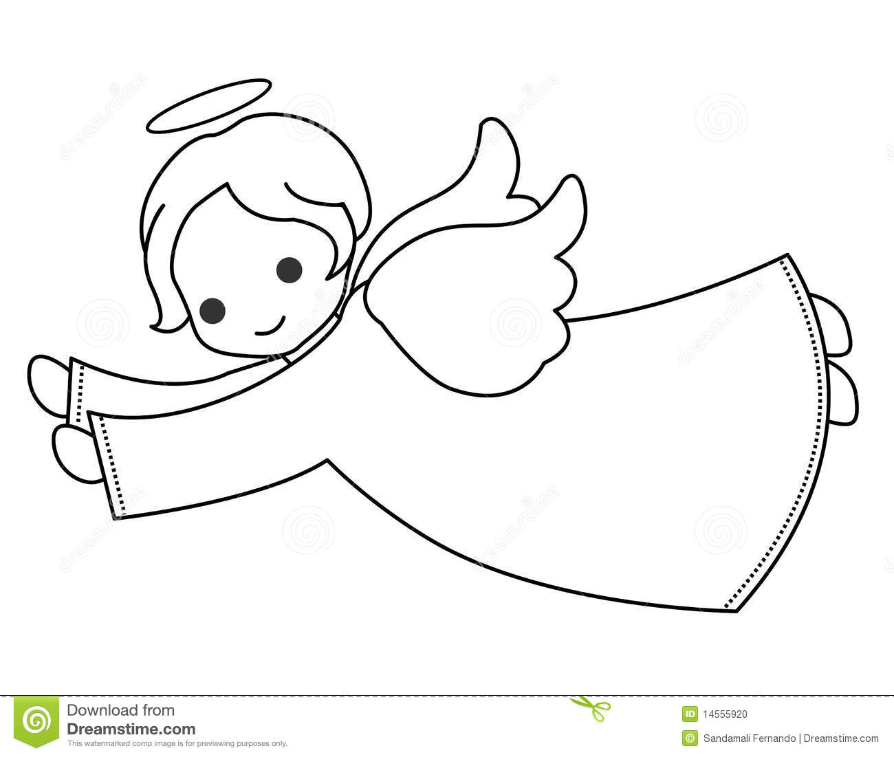 Cute Baby Angel Clipart Cute angelBaby Angel Outline