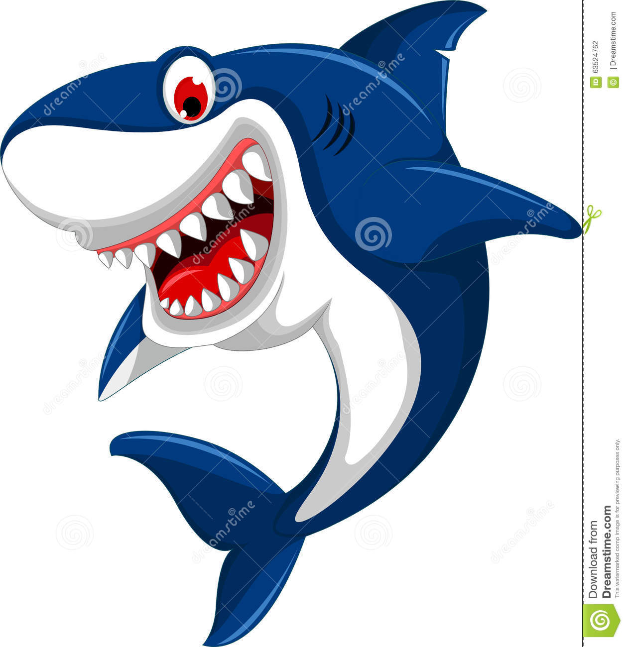 Angry shark clipart - photo#21