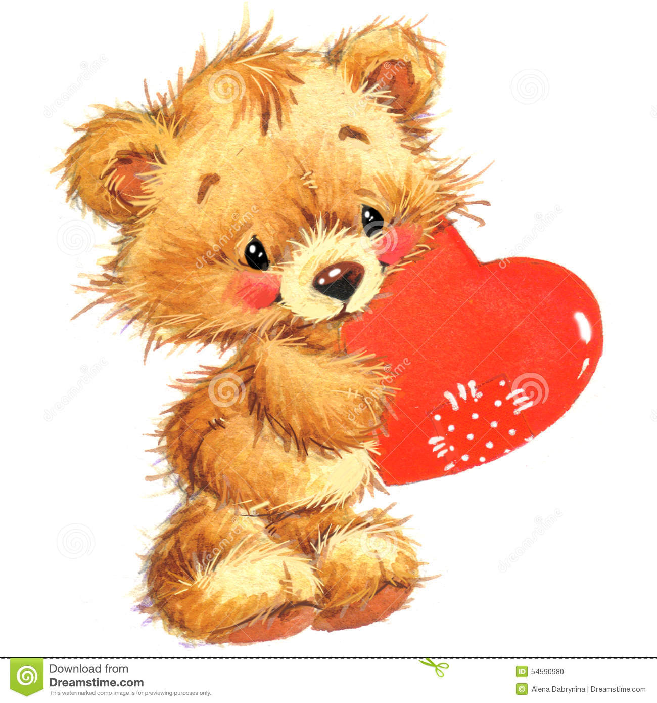 Cute Valentine Animals Cute Animal And Valent...