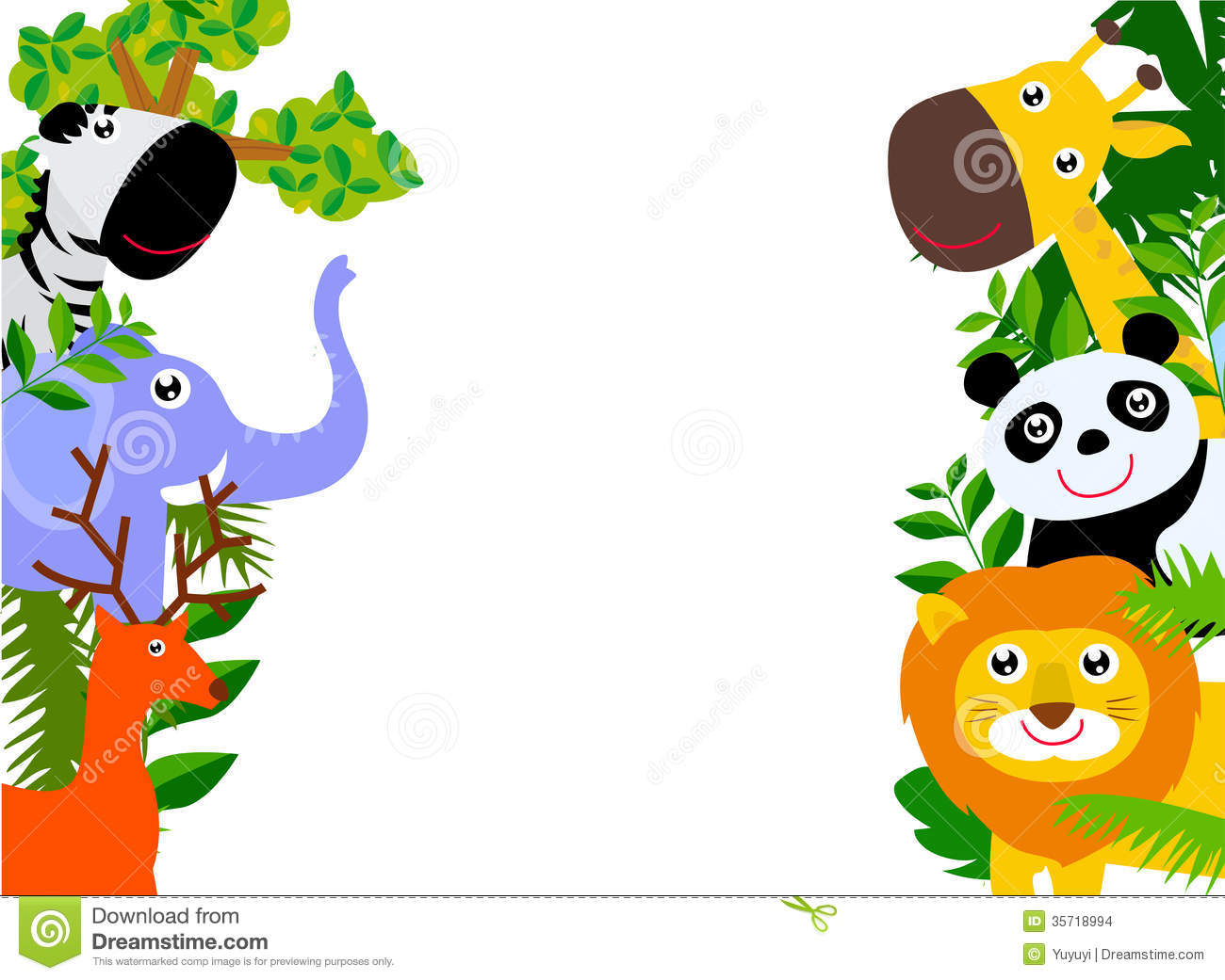 Zoo Clipart For Kids
