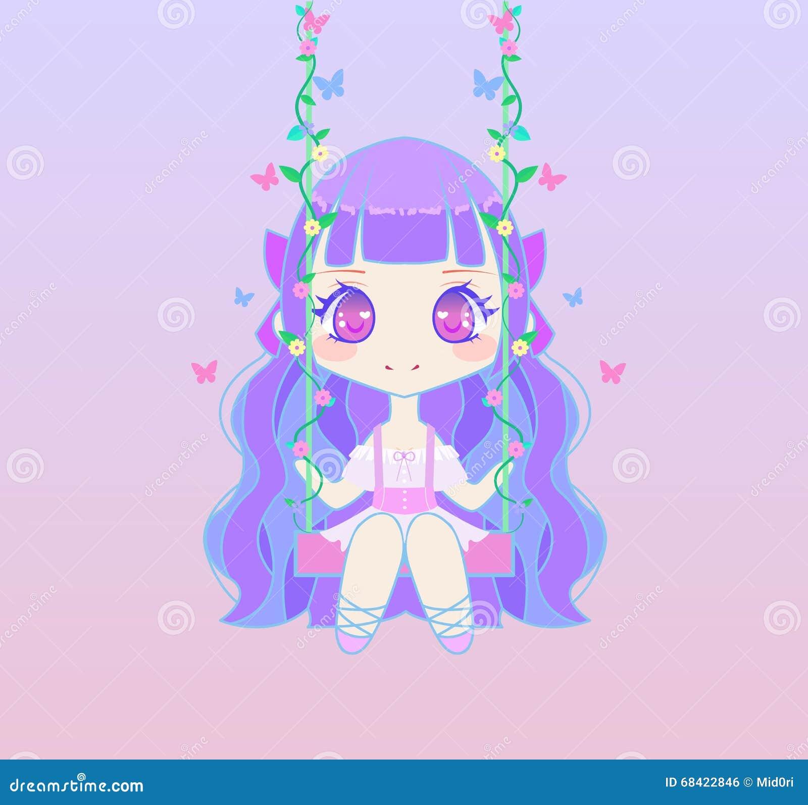 chibi anime girls fairy - photo #31
