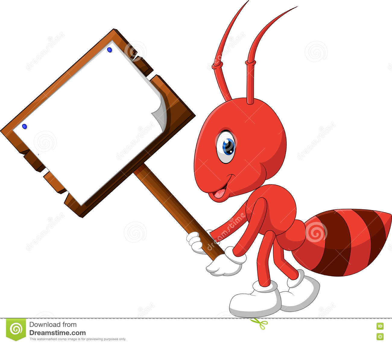 cute ant cartoon stock vector image 77872397 clip art ants and spiders clip art ants at picnic