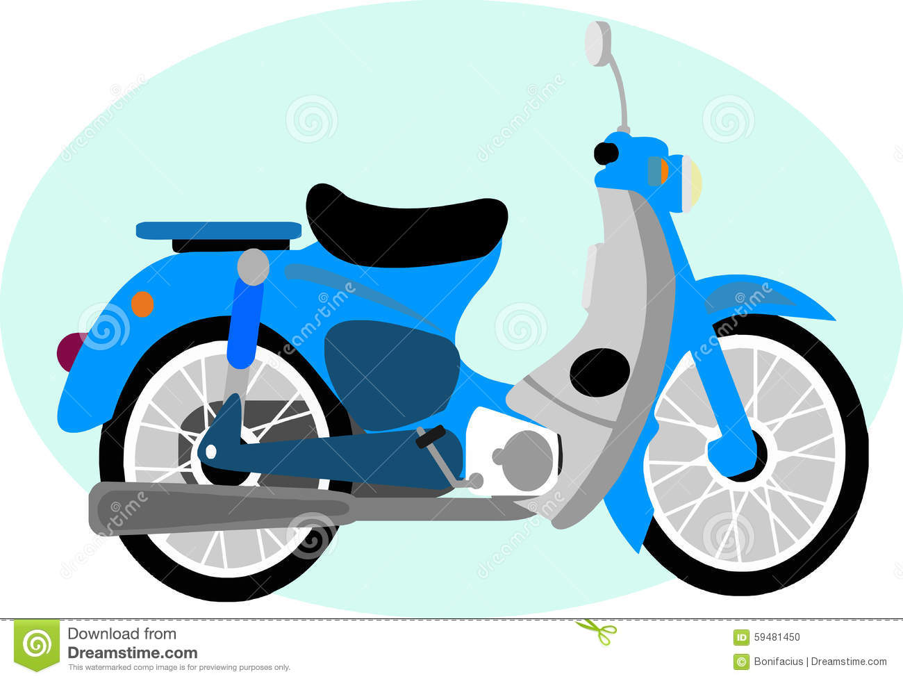 cute antique motorcycle cartoon stock illustration illustration of rh dreamstime com clip art motorcycles sunset clip art motorcycles sunset
