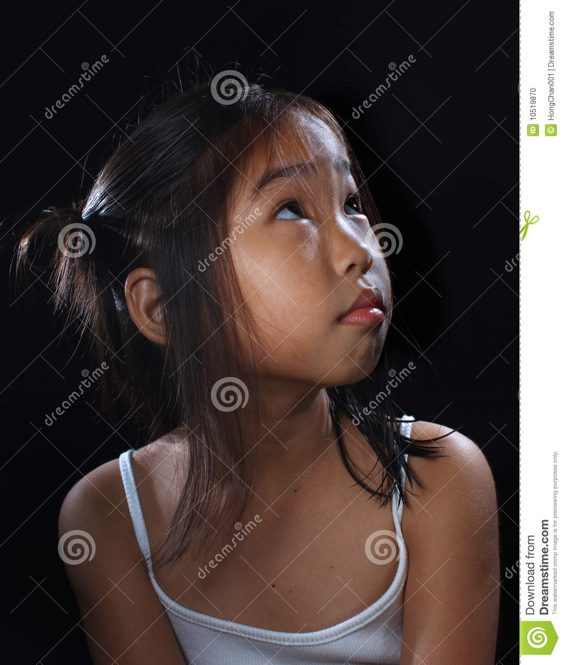 Lighting Black Background >> Cute asia girl stock photo. Image of people, lifestyle - 10519870
