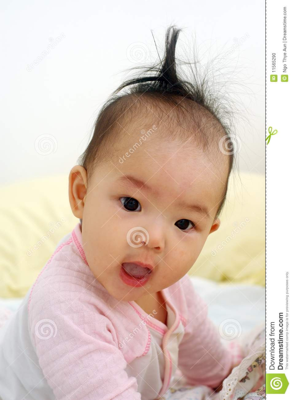 Cute asian baby stock photo. Image of asian, child, alone ... Cute Asian White Baby