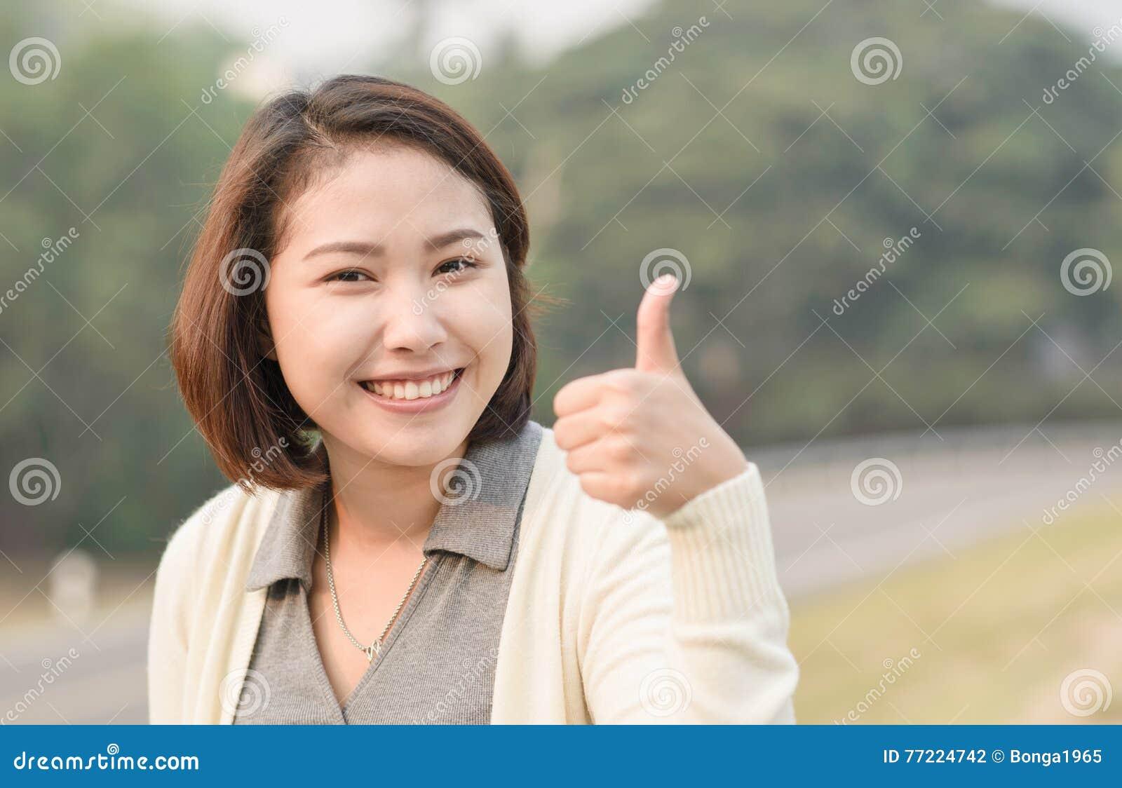 Cute asian thumbs