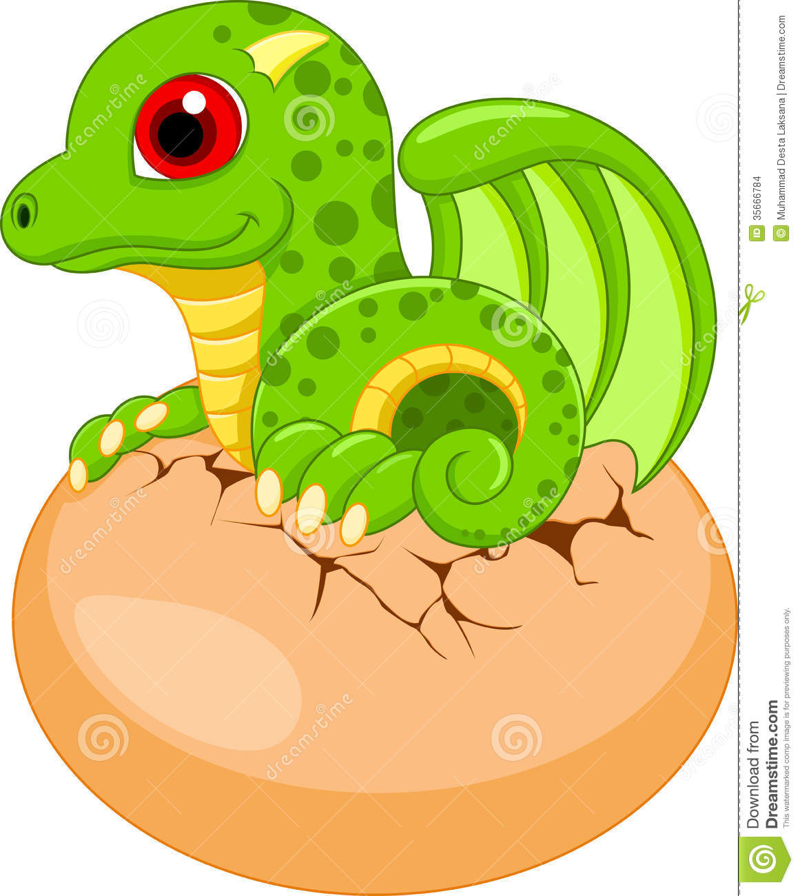 Cute Babies Dragon Stock Images