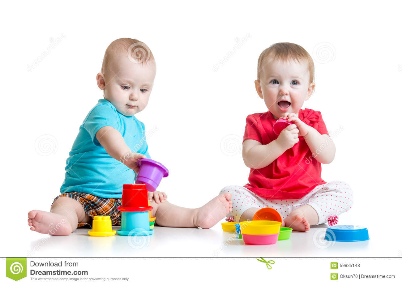 two cute babies sitting together stock images - 427 photos