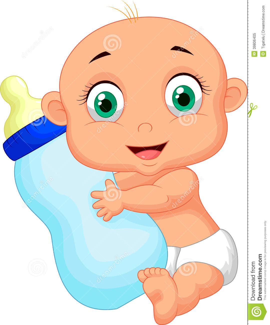 Cute baby cartoon holding milk bottle stock vector illustration of cute baby cartoon holding milk bottle voltagebd Image collections