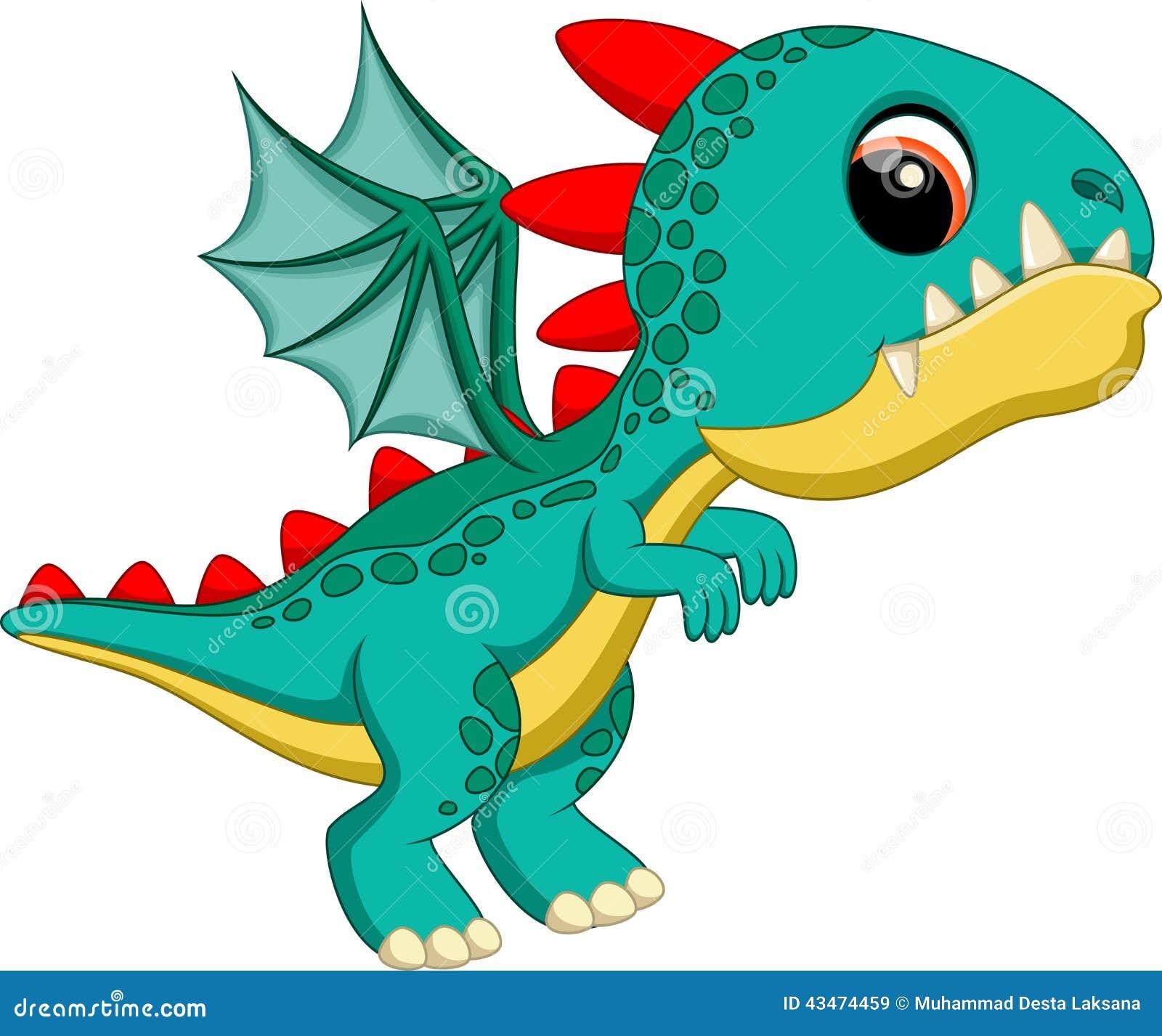 Cute baby dragon cartoon stock illustration image of creature cute baby dragon cartoon voltagebd Images