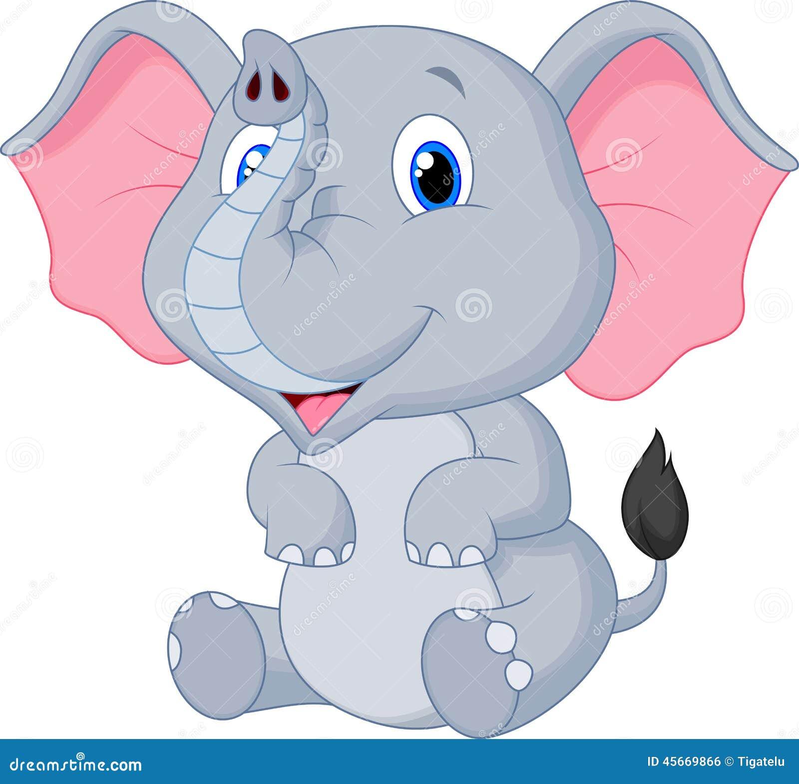 Cute Cartoon Elephant Drawings Male Models Picture