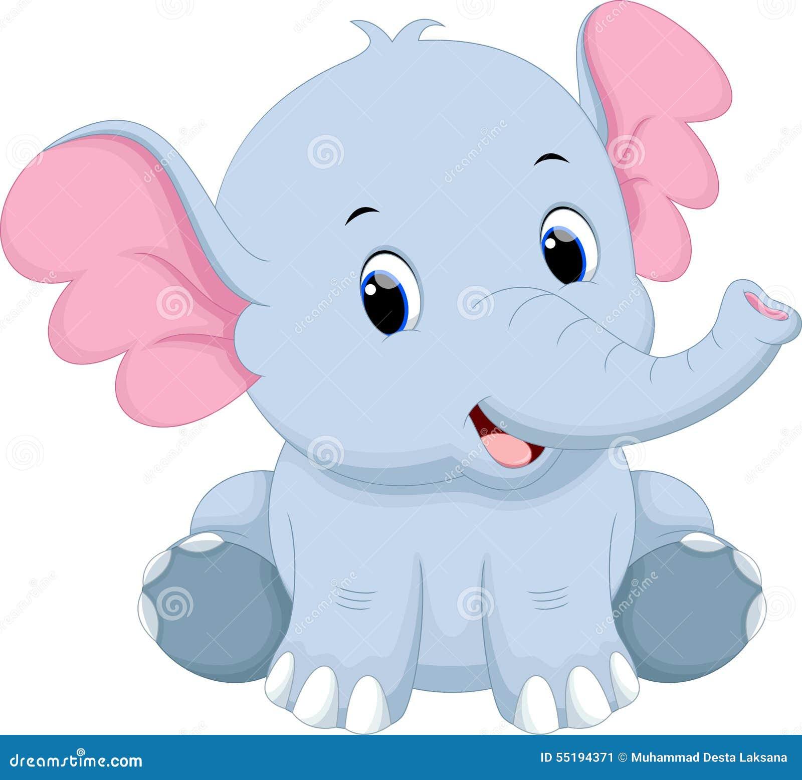 Download Wallpaper Cartoon Elephant - cute-baby-elephant-cartoon-white-background-55194371  Picture_503425  .jpg