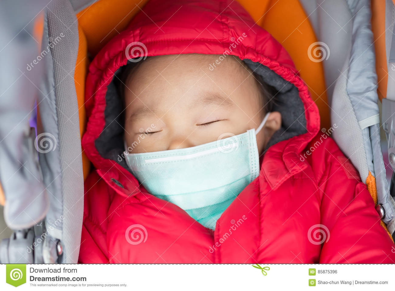 Baby Chinese Stock Fever Of - 85875396 Cute Image Photo Get Cold