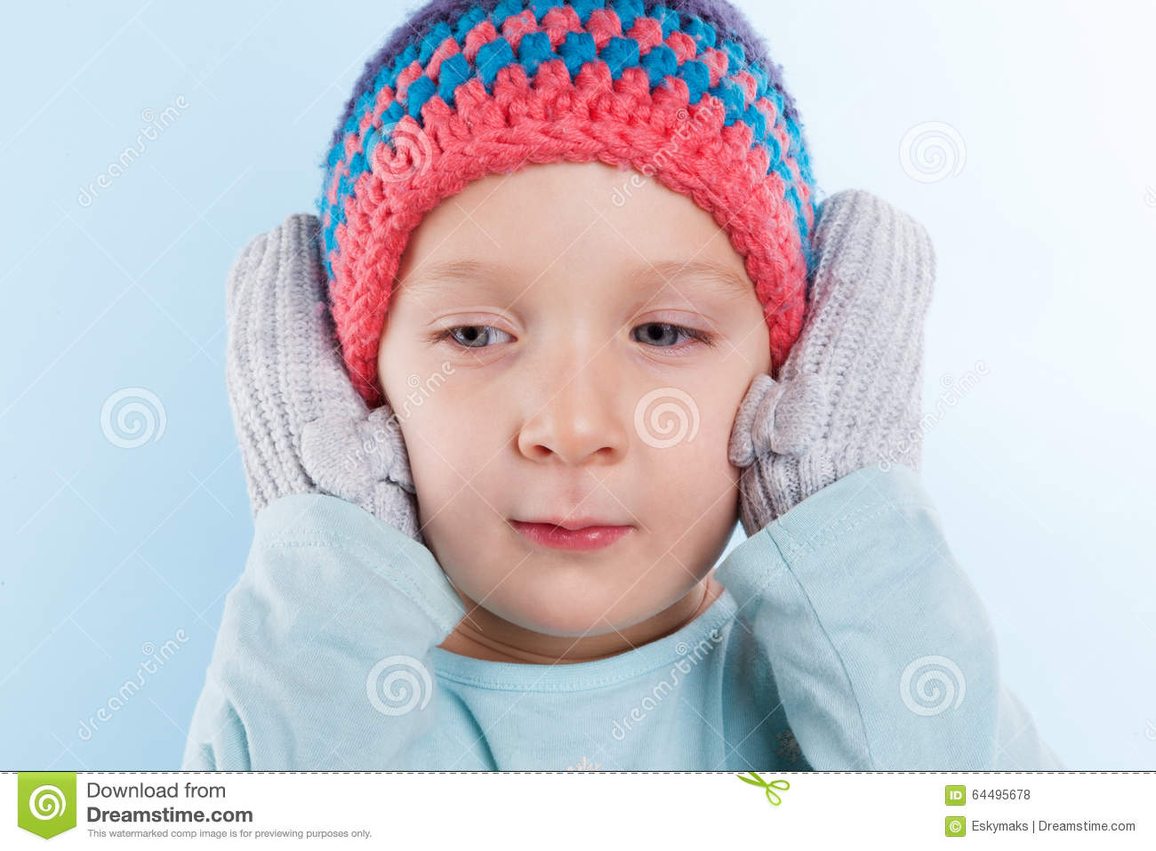 Cute baby girl winter. stock photo. Image of fashion - 64495678 ccac2359446