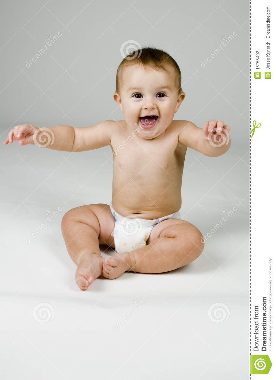 Cute Baby with Happy Face