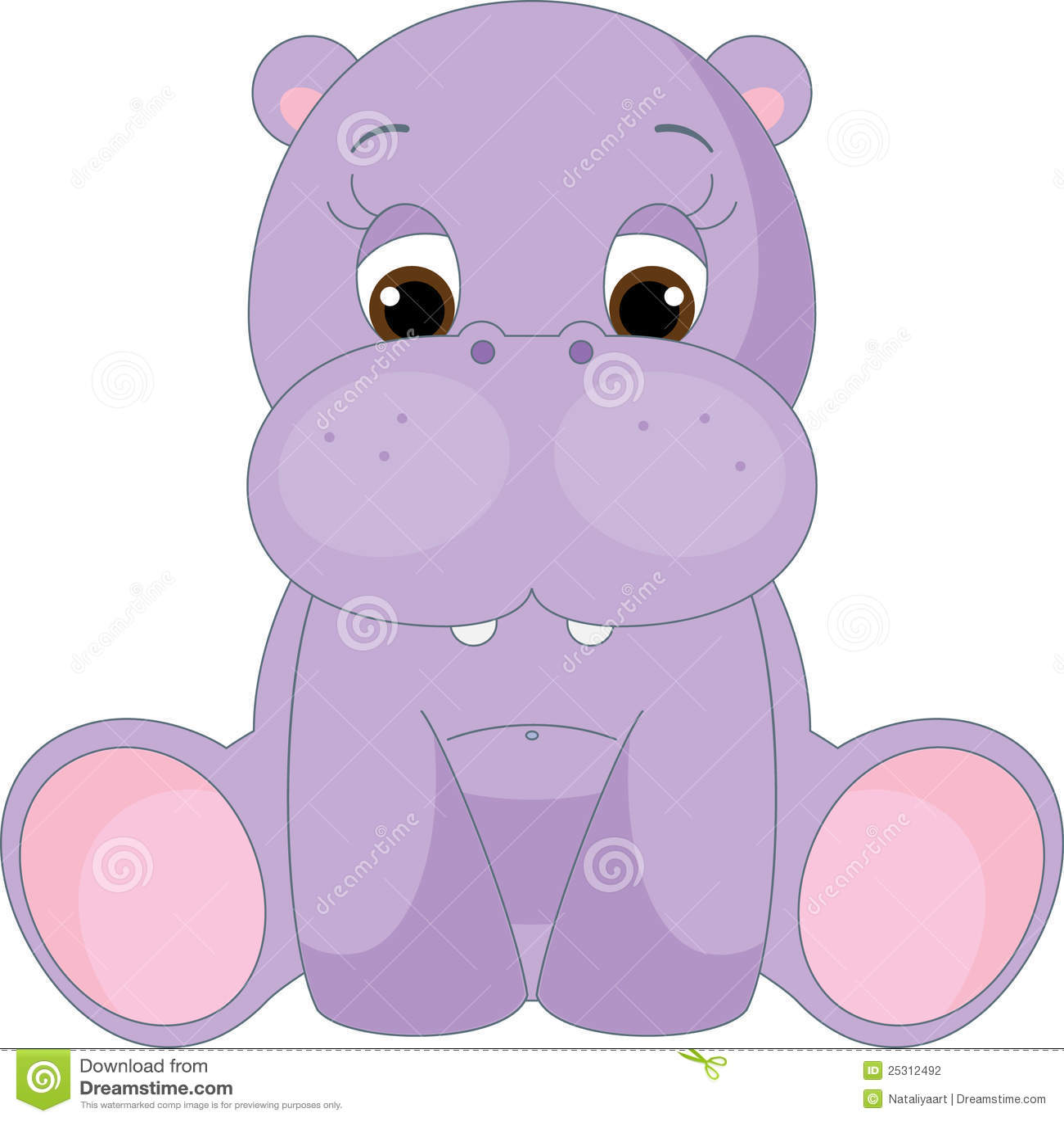 baby hippo clipart - photo #33