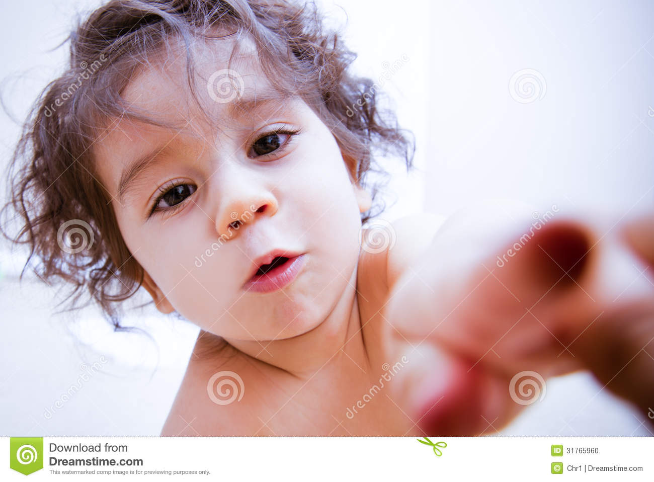 Cute Baby Stock Photo - Image: 31765960