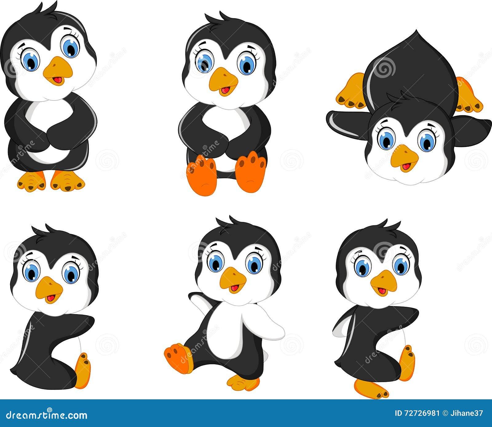 Cute Cartoon Baby Penguins | www.pixshark.com - Images ...