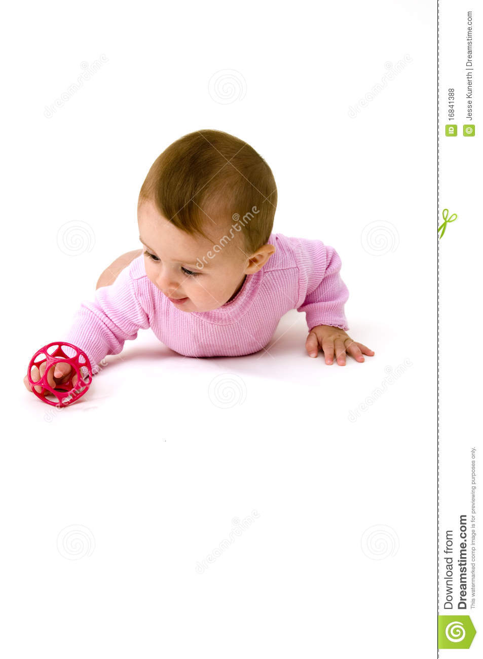 Cute Baby Toys : Cute baby playing with toys royalty free stock photos