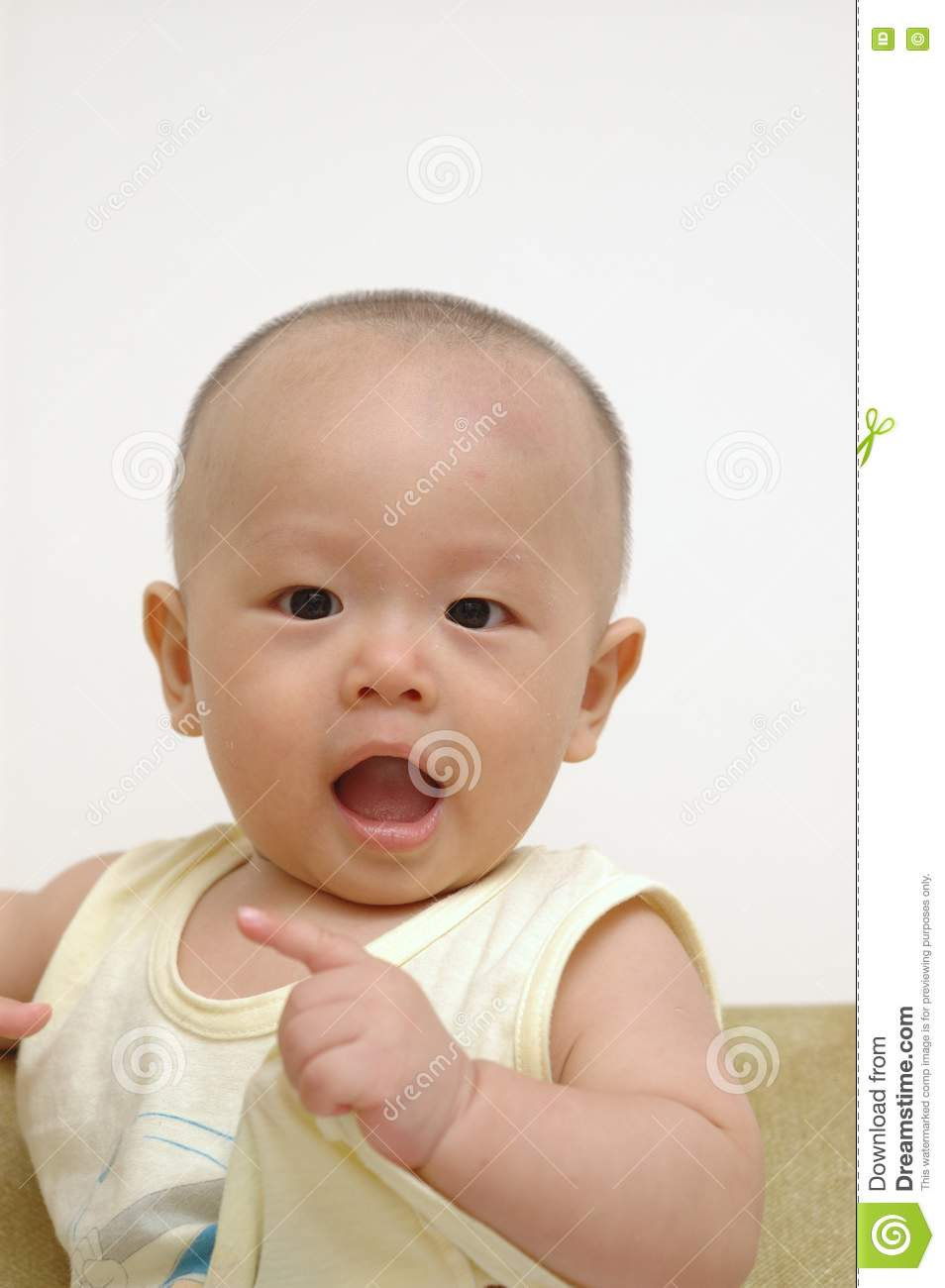 portrait of cute baby - photo #9