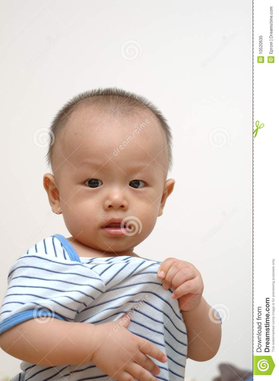 portrait of cute baby - photo #5