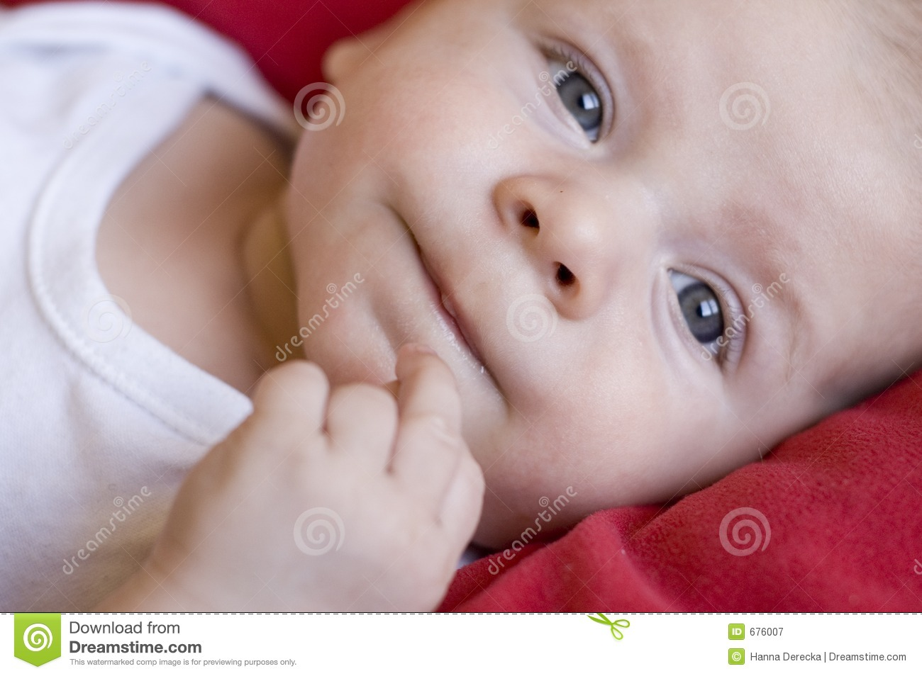 portrait of cute baby - photo #8