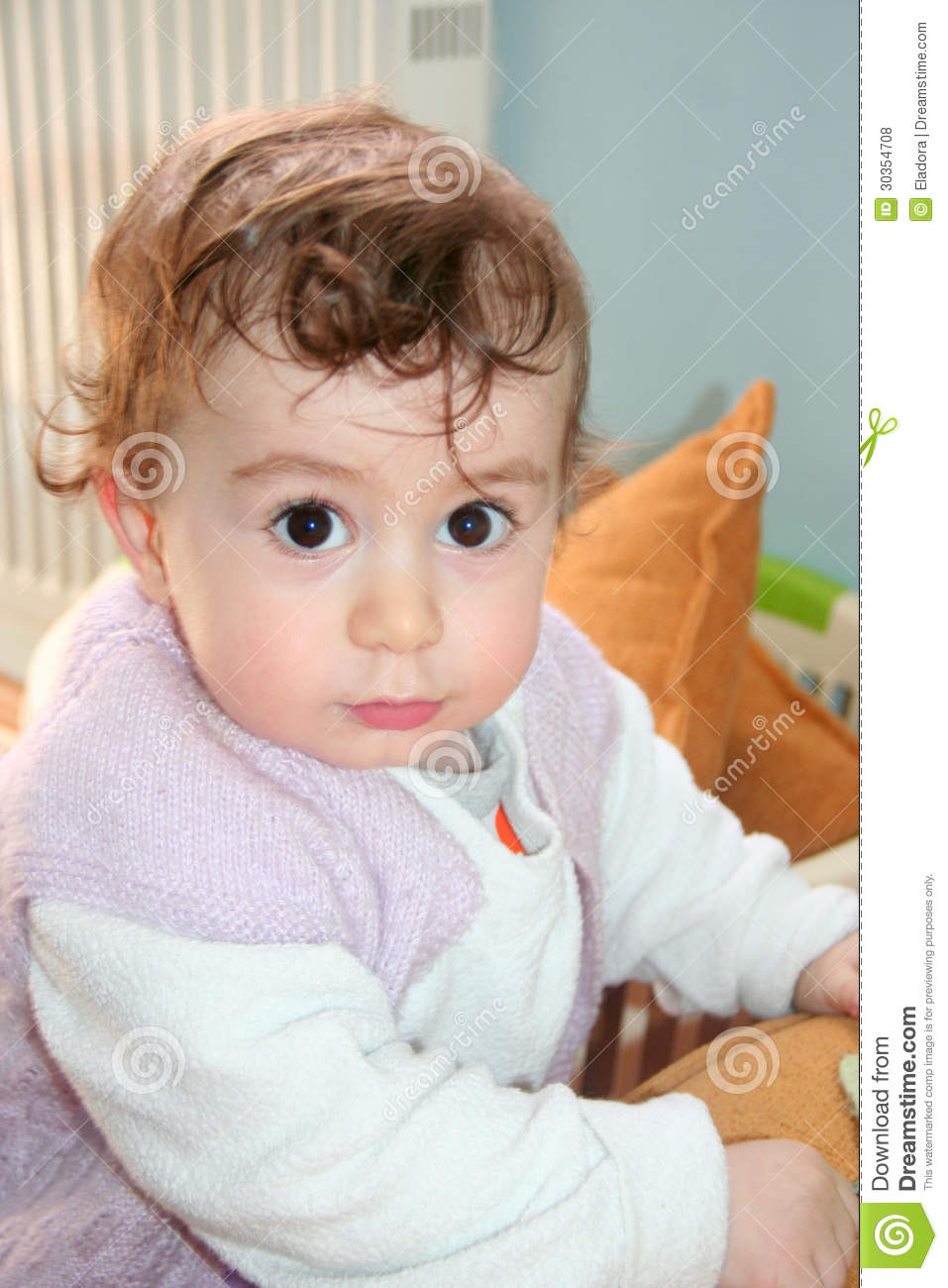 portrait of cute baby - photo #21