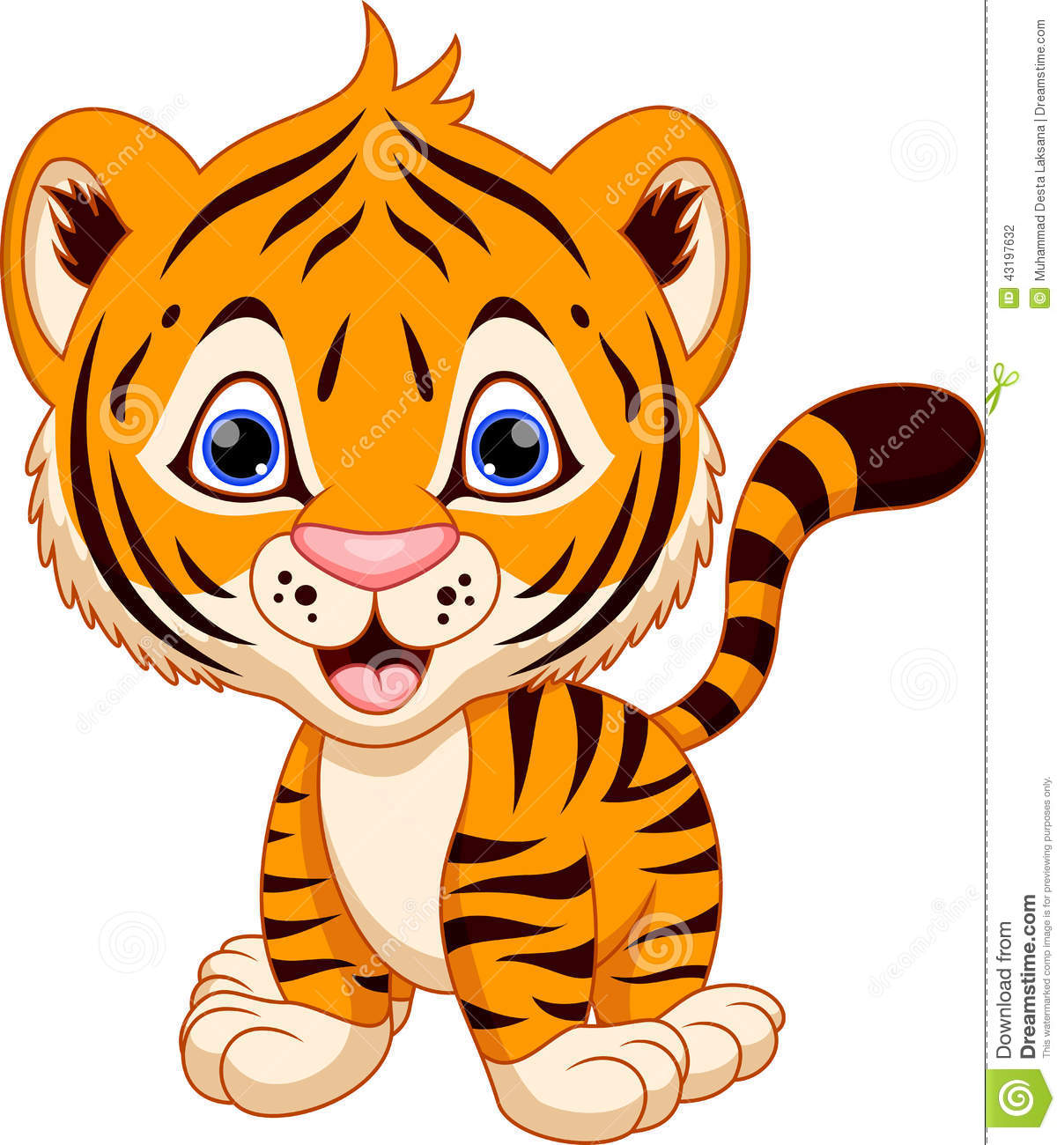 cute baby tiger cartoon stock illustration image of jaguar school mascot clipart jaguar school mascot clipart