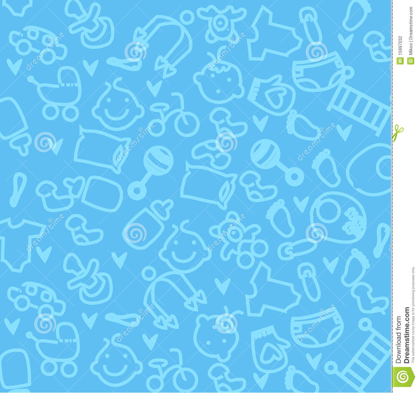 Baby Backgrounds Wallpapers Group 56 Cute Background With Cartoon Blue