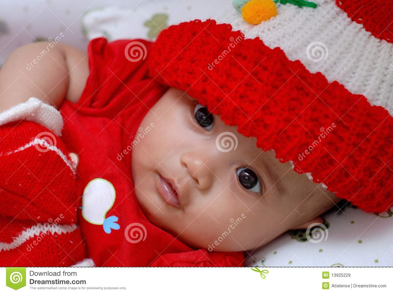 cute baby wearing cap stock photos - 1,427 images